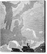 Early Sighting Of Brocken Spectres, 1797 Acrylic Print by