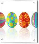 Easter Eggs Acrylic Print by Carlos Caetano
