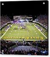 Ecu  Dowdy-ficklen Stadium  Acrylic Print by Rob Goldberg