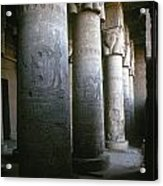 Egypt: Temple Of Hathor Acrylic Print by Granger