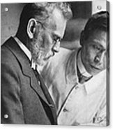 Ehrlich And Hata, Discovered Syphilis Acrylic Print by Science Source