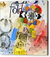 Eight Of Spades 30-52 Acrylic Print by Cliff Spohn