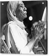 Elderly African American Woman Acrylic Print by Everett