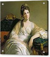 Eleanor Francis Grant - Of Arndilly Acrylic Print by Tilly Kettle