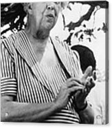 Eleanor Roosevelt 1884-1962, First Lady Acrylic Print by Everett