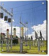 Electricity For A City Acrylic Print by Aleksandr Volkov