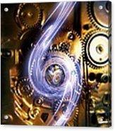 Electromechanics, Conceptual Image Acrylic Print by Richard Kail