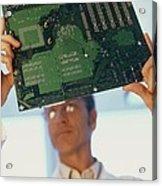 Electronics Engineer Acrylic Print by Adam Gault