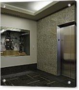 Elevator Acrylic Print by Robert Pisano