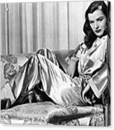 Ella Raines, Universal Pictures Acrylic Print by Everett