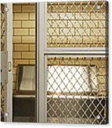 Empty Jail Holding Cell Acrylic Print by Jeremy Woodhouse