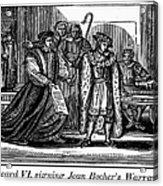 England: Martyr, 1550 Acrylic Print by Granger