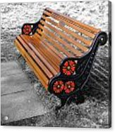 English Bench Acrylic Print by Roberto Alamino