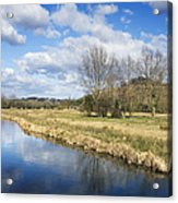 English Countryside Acrylic Print by Jane Rix