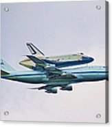 Enterprise 5 Acrylic Print by S Paul Sahm