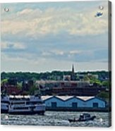 Enterprise 8 Acrylic Print by S Paul Sahm