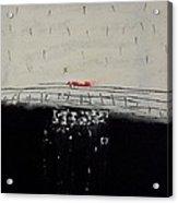 Eruption  V. Acrylic Print by Jorgen Rosengaard