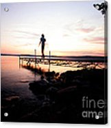 Evanesce - I'm Not Here Acrylic Print by Venura Herath