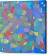 Expanding Galaxy Acrylic Print by Naomi Susan Schwartz Jacobs