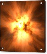 Explosion Acrylic Print by David Mack