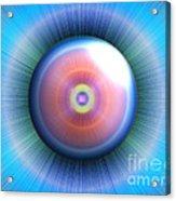 Eye Acrylic Print by Nicholas Burningham