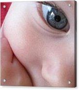 Eye Of Innocence Acrylic Print by Valia Bradshaw