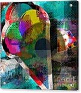 Eye Tracking  Acrylic Print by Fania Simon