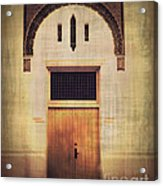 Faded Doorway Acrylic Print by Perry Webster