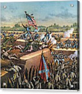 Fall Of Petersburg, 1865 Acrylic Print by Granger