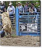 Fallen Cowboy Acrylic Print by Sean Griffin