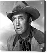 Far Country, The, James Stewart, 1955 Acrylic Print by Everett