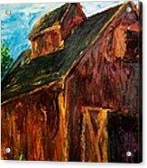 Farm Barn Acrylic Print by Scott Nelson
