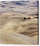 Farm Fields Acrylic Print by Jeremy Woodhouse