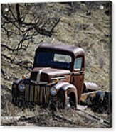 Farm Fresh Ford Acrylic Print by Steve McKinzie