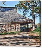 Farm Scene At Booker T. Washington National Monument Park Acrylic Print by James Woody