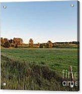 Farmer's Field Acrylic Print by Michael Meyer