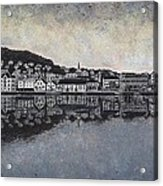 Farsund Waterfront Acrylic Print by Janet King