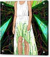 Fashion Abstraction De Jeff Hanson Acrylic Print by Kenal Louis