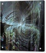 Fear Of The Unknown Acrylic Print by Linda Sannuti