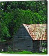 Feed Stand Acrylic Print by Scott Hervieux