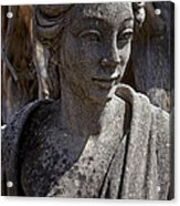 Female Statue Acrylic Print by Garry Gay
