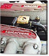Ferrari Testarossa Acrylic Print by Andrew  Cragin