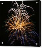 Fireworks 6 Acrylic Print by Paul Marto