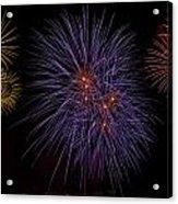 Fireworks Acrylic Print by Joana Kruse