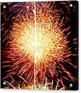 Fireworks_1591 Acrylic Print by Michael Peychich