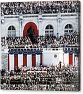 First Inauguration Of Bill Clinton Acrylic Print by Everett