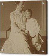 First Lady Edith Roosevelt Acrylic Print by Everett