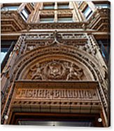 Fisher Building Chicago Acrylic Print by Steve Gadomski