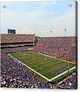 Florida  Ben Hill Griffin Stadium On Game Day Acrylic Print by Getty Images