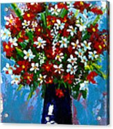Flower Arrangement Bouquet Acrylic Print by Patricia Awapara